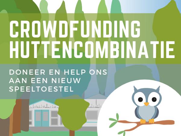 Crowdfunding Huttencombinatie met Glijbaan